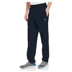 Champion Men's Closed Bottom Jersey Sweatpant